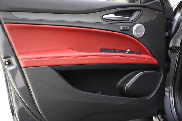 New 2020 Alfa Romeo Stelvio Ti Q4 for sale Sold at Alfa Romeo of Greenwich in Greenwich CT 06830 18