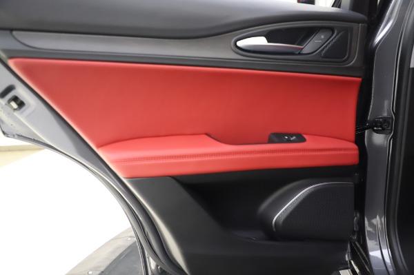 New 2020 Alfa Romeo Stelvio Ti Q4 for sale Sold at Alfa Romeo of Greenwich in Greenwich CT 06830 22