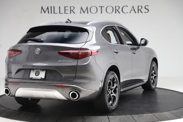 New 2020 Alfa Romeo Stelvio Ti Q4 for sale Sold at Alfa Romeo of Greenwich in Greenwich CT 06830 8