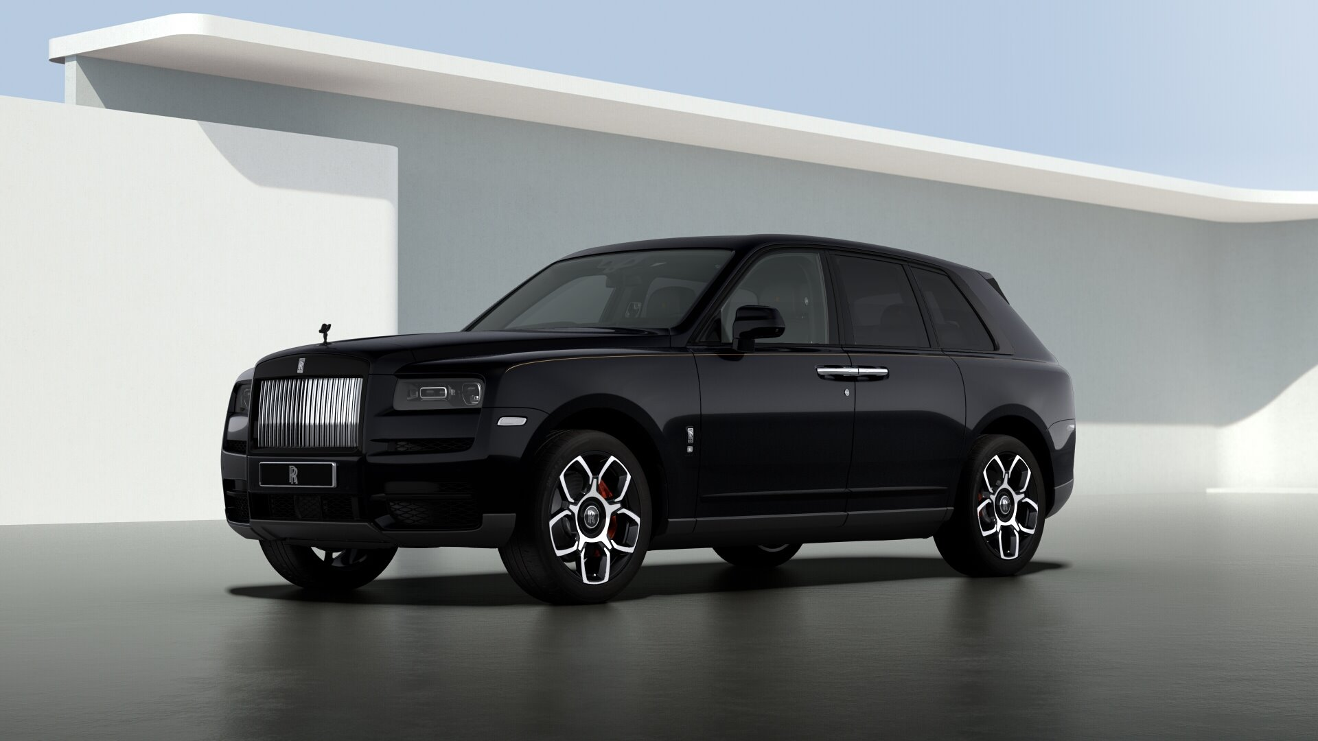New 2021 Rolls-Royce Cullinan Black Badge for sale $439,700 at Alfa Romeo of Greenwich in Greenwich CT 06830 1