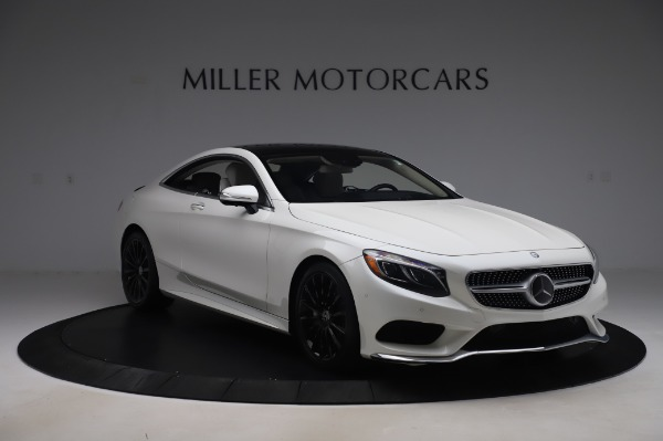 Used 2015 Mercedes-Benz S-Class S 550 4MATIC for sale Sold at Alfa Romeo of Greenwich in Greenwich CT 06830 11