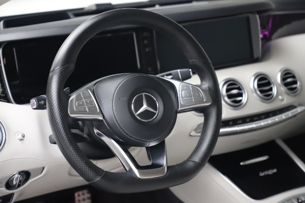 Used 2015 Mercedes-Benz S-Class S 550 4MATIC for sale Sold at Alfa Romeo of Greenwich in Greenwich CT 06830 18