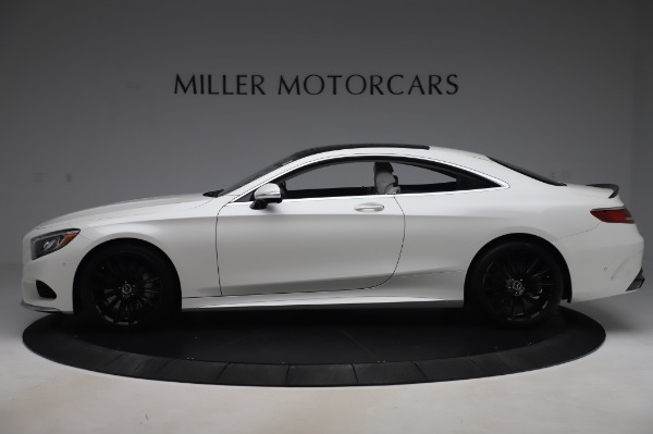 Used 2015 Mercedes-Benz S-Class S 550 4MATIC for sale Sold at Alfa Romeo of Greenwich in Greenwich CT 06830 3