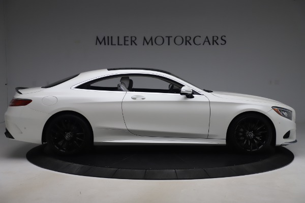 Used 2015 Mercedes-Benz S-Class S 550 4MATIC for sale Sold at Alfa Romeo of Greenwich in Greenwich CT 06830 9