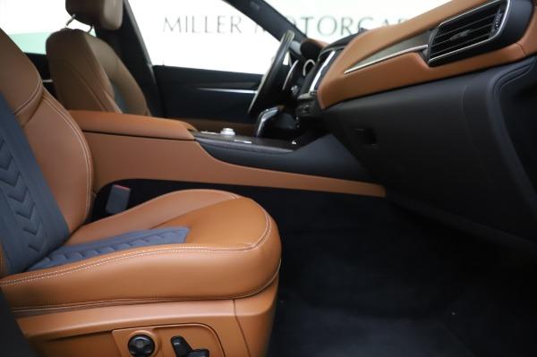 New 2020 Maserati Levante Q4 GranLusso for sale $88,635 at Alfa Romeo of Greenwich in Greenwich CT 06830 23