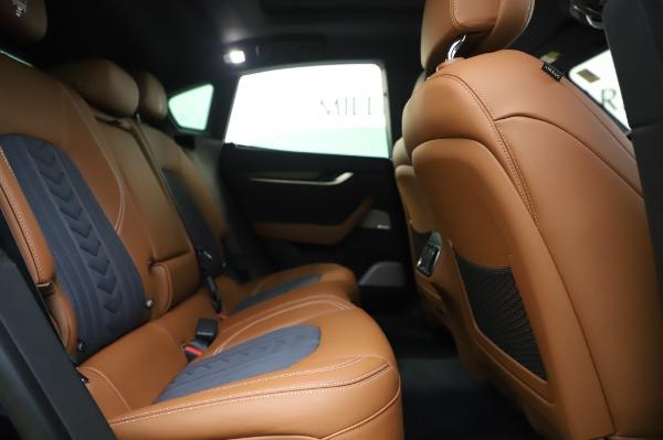 New 2020 Maserati Levante Q4 GranLusso for sale $88,635 at Alfa Romeo of Greenwich in Greenwich CT 06830 27