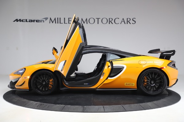 New 2020 McLaren 620R Coupe for sale Call for price at Alfa Romeo of Greenwich in Greenwich CT 06830 11