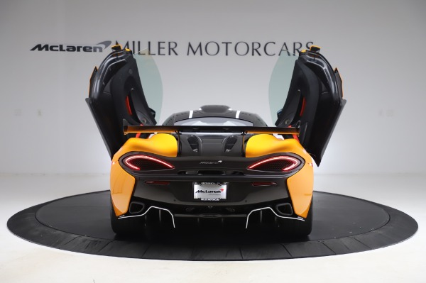 New 2020 McLaren 620R Coupe for sale Call for price at Alfa Romeo of Greenwich in Greenwich CT 06830 13