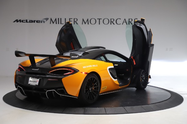 New 2020 McLaren 620R Coupe for sale Call for price at Alfa Romeo of Greenwich in Greenwich CT 06830 14