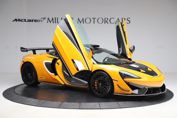 New 2020 McLaren 620R Coupe for sale Call for price at Alfa Romeo of Greenwich in Greenwich CT 06830 16