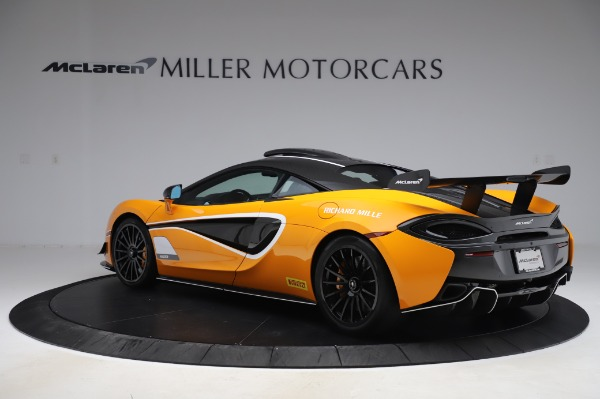 New 2020 McLaren 620R Coupe for sale Call for price at Alfa Romeo of Greenwich in Greenwich CT 06830 3