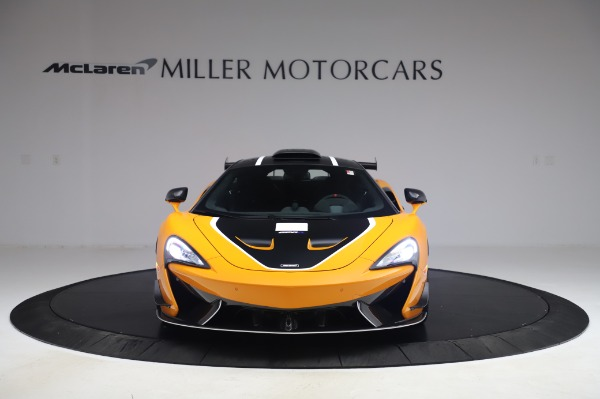 New 2020 McLaren 620R Coupe for sale Call for price at Alfa Romeo of Greenwich in Greenwich CT 06830 8
