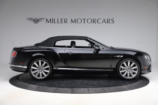 Used 2016 Bentley Continental GTC W12 for sale Call for price at Alfa Romeo of Greenwich in Greenwich CT 06830 18