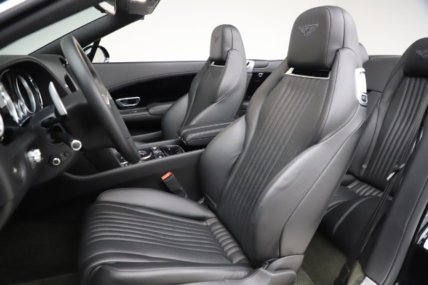 Used 2016 Bentley Continental GTC W12 for sale Call for price at Alfa Romeo of Greenwich in Greenwich CT 06830 27