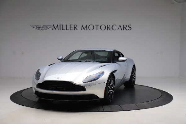 Used 2018 Aston Martin DB11 V8 Coupe for sale $147,900 at Alfa Romeo of Greenwich in Greenwich CT 06830 12