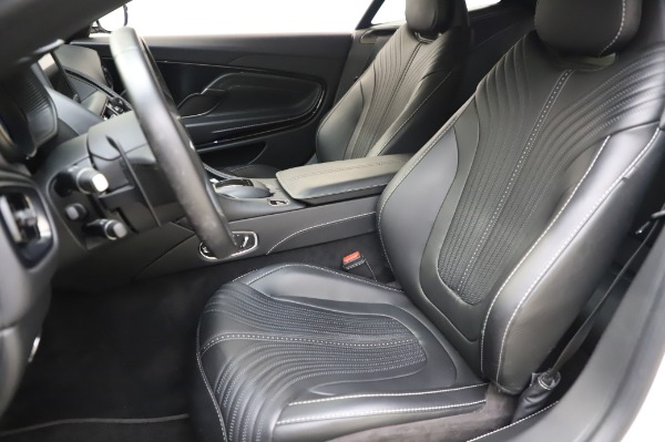 Used 2018 Aston Martin DB11 V8 Coupe for sale $147,900 at Alfa Romeo of Greenwich in Greenwich CT 06830 15