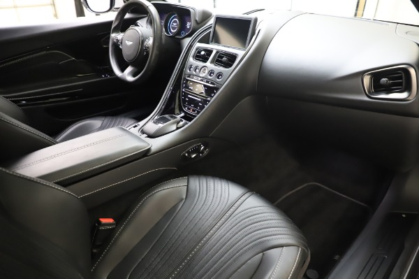 Used 2018 Aston Martin DB11 V8 Coupe for sale $147,900 at Alfa Romeo of Greenwich in Greenwich CT 06830 18