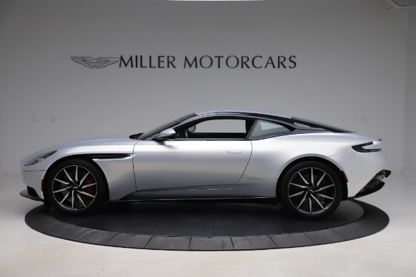 Used 2018 Aston Martin DB11 V8 Coupe for sale $147,900 at Alfa Romeo of Greenwich in Greenwich CT 06830 2