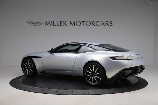Used 2018 Aston Martin DB11 V8 Coupe for sale $147,900 at Alfa Romeo of Greenwich in Greenwich CT 06830 3