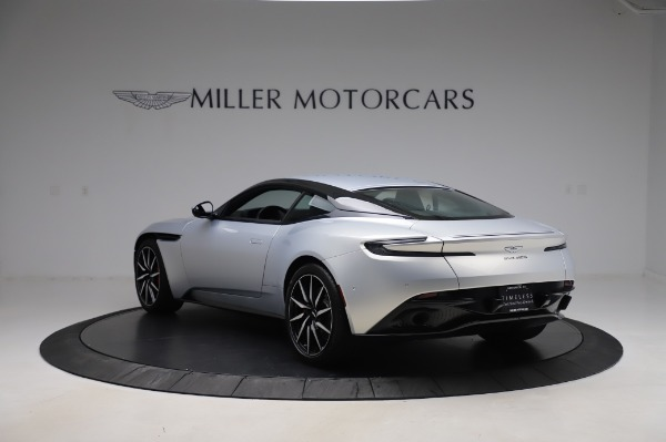 Used 2018 Aston Martin DB11 V8 Coupe for sale $147,900 at Alfa Romeo of Greenwich in Greenwich CT 06830 4