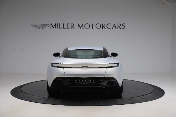Used 2018 Aston Martin DB11 V8 Coupe for sale $147,900 at Alfa Romeo of Greenwich in Greenwich CT 06830 5