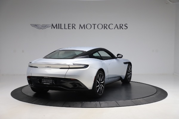 Used 2018 Aston Martin DB11 V8 Coupe for sale $147,900 at Alfa Romeo of Greenwich in Greenwich CT 06830 6