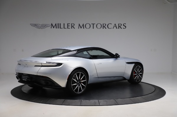 Used 2018 Aston Martin DB11 V8 Coupe for sale $147,900 at Alfa Romeo of Greenwich in Greenwich CT 06830 7