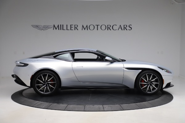 Used 2018 Aston Martin DB11 V8 Coupe for sale $147,900 at Alfa Romeo of Greenwich in Greenwich CT 06830 8