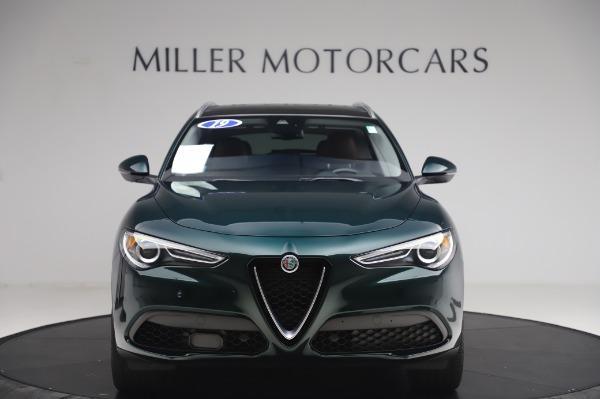 Used 2019 Alfa Romeo Stelvio Ti Lusso for sale Sold at Alfa Romeo of Greenwich in Greenwich CT 06830 12