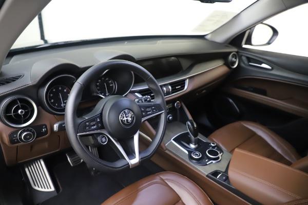 Used 2019 Alfa Romeo Stelvio Ti Lusso for sale Sold at Alfa Romeo of Greenwich in Greenwich CT 06830 13