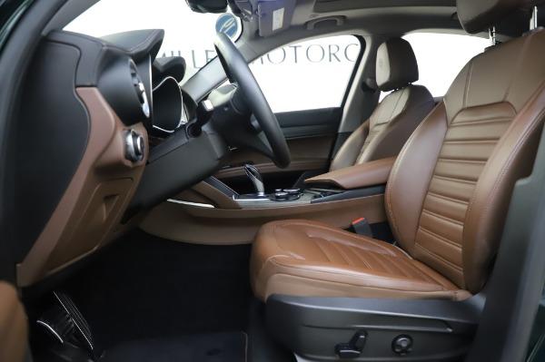 Used 2019 Alfa Romeo Stelvio Ti Lusso for sale Sold at Alfa Romeo of Greenwich in Greenwich CT 06830 14
