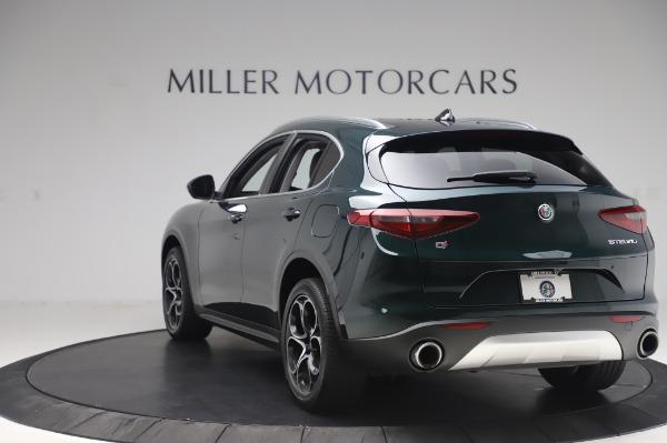 Used 2019 Alfa Romeo Stelvio Ti Lusso for sale Sold at Alfa Romeo of Greenwich in Greenwich CT 06830 5
