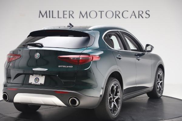 Used 2019 Alfa Romeo Stelvio Ti Lusso for sale Sold at Alfa Romeo of Greenwich in Greenwich CT 06830 8