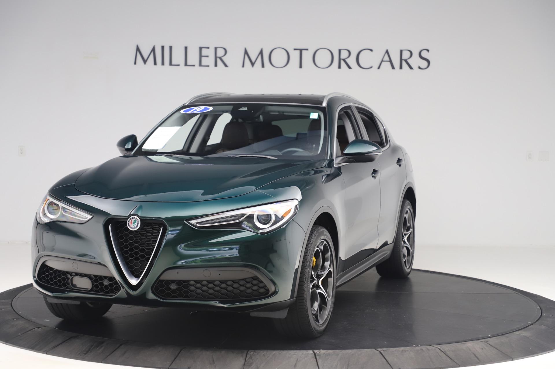 Used 2019 Alfa Romeo Stelvio Ti Lusso for sale Sold at Alfa Romeo of Greenwich in Greenwich CT 06830 1