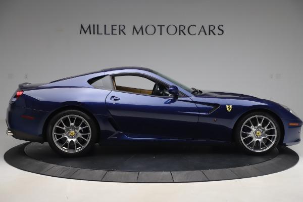 Used 2009 Ferrari 599 GTB Fiorano for sale Sold at Alfa Romeo of Greenwich in Greenwich CT 06830 9