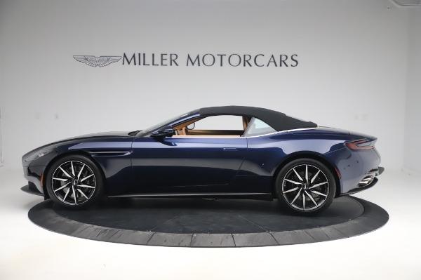 New 2020 Aston Martin DB11 Volante for sale $248,326 at Alfa Romeo of Greenwich in Greenwich CT 06830 13