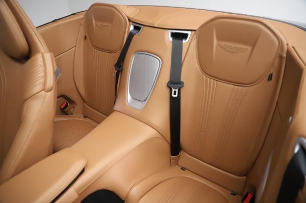 New 2020 Aston Martin DB11 Volante Volante for sale $248,326 at Alfa Romeo of Greenwich in Greenwich CT 06830 21