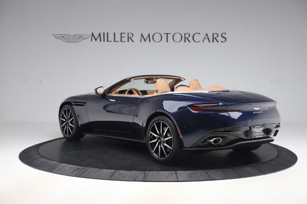 New 2020 Aston Martin DB11 Volante Volante for sale $248,326 at Alfa Romeo of Greenwich in Greenwich CT 06830 4