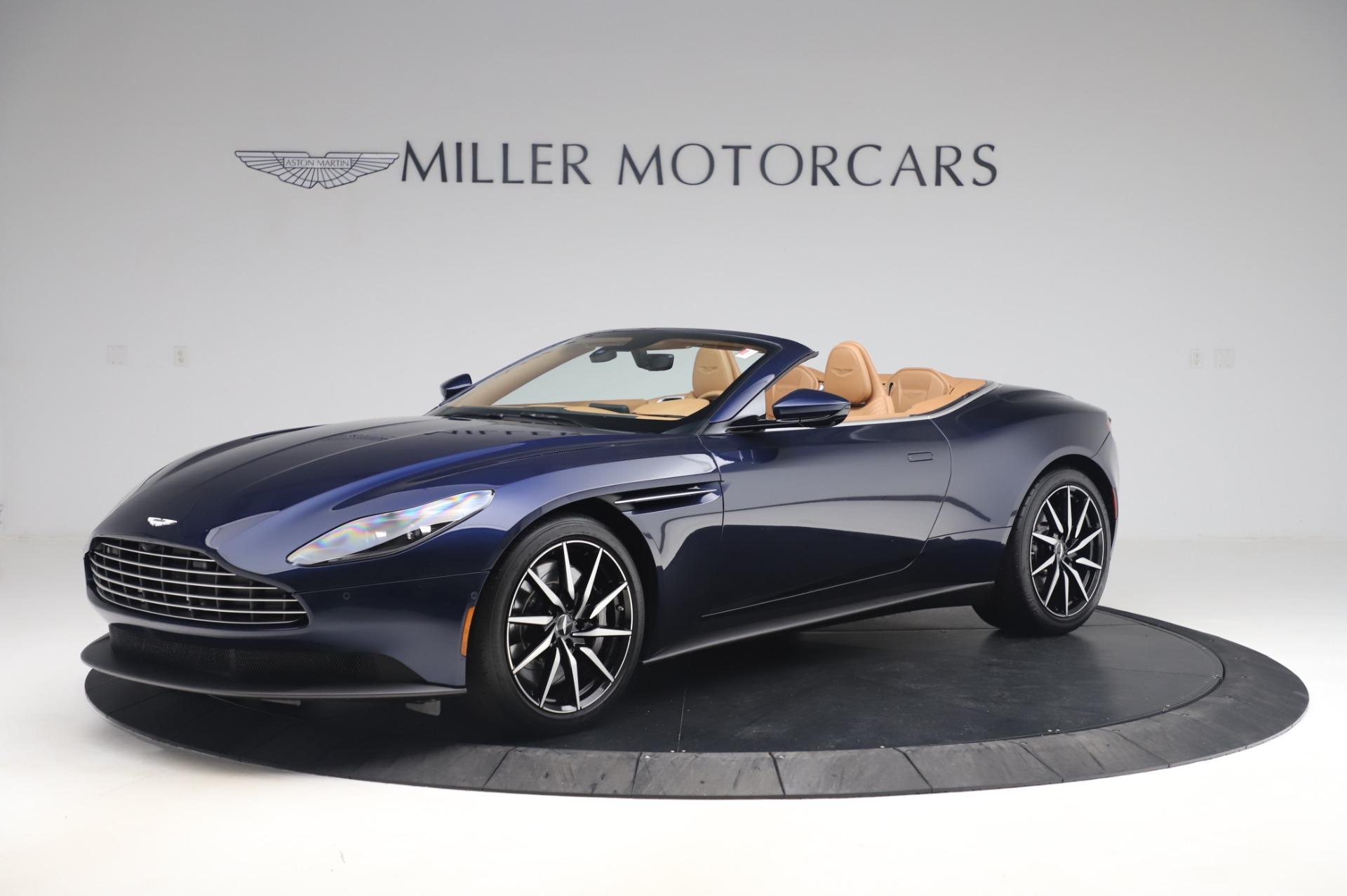 New 2020 Aston Martin DB11 Volante for sale $248,326 at Alfa Romeo of Greenwich in Greenwich CT 06830 1