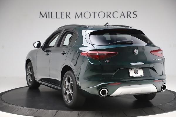 New 2020 Alfa Romeo Stelvio Sport Q4 for sale Sold at Alfa Romeo of Greenwich in Greenwich CT 06830 5