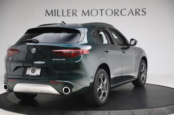 New 2020 Alfa Romeo Stelvio Sport Q4 for sale Sold at Alfa Romeo of Greenwich in Greenwich CT 06830 7
