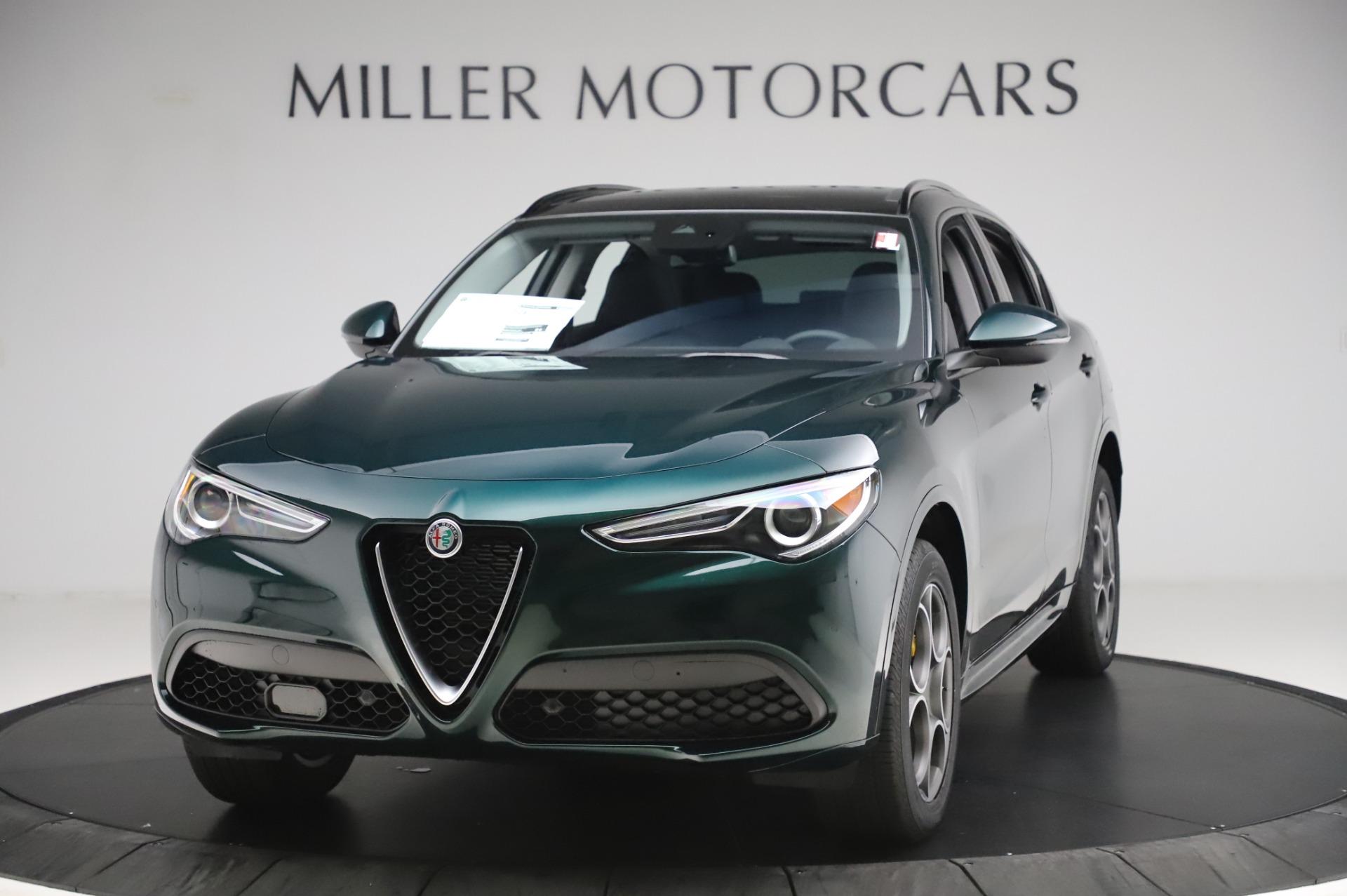 New 2020 Alfa Romeo Stelvio Sport Q4 for sale $49,995 at Alfa Romeo of Greenwich in Greenwich CT 06830 1