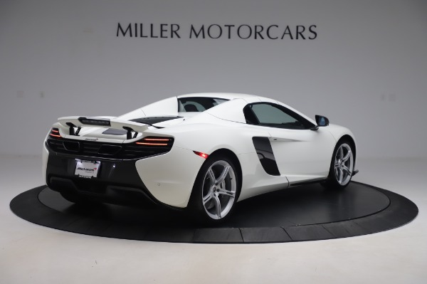 Used 2016 McLaren 650S Spider for sale Sold at Alfa Romeo of Greenwich in Greenwich CT 06830 14