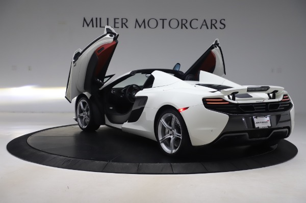 Used 2016 McLaren 650S Spider for sale Sold at Alfa Romeo of Greenwich in Greenwich CT 06830 18