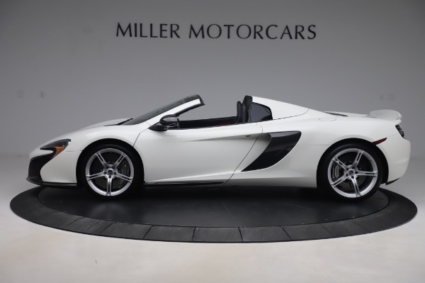 Used 2016 McLaren 650S Spider for sale Sold at Alfa Romeo of Greenwich in Greenwich CT 06830 2