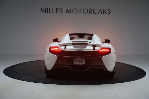 Used 2016 McLaren 650S Spider for sale Sold at Alfa Romeo of Greenwich in Greenwich CT 06830 4