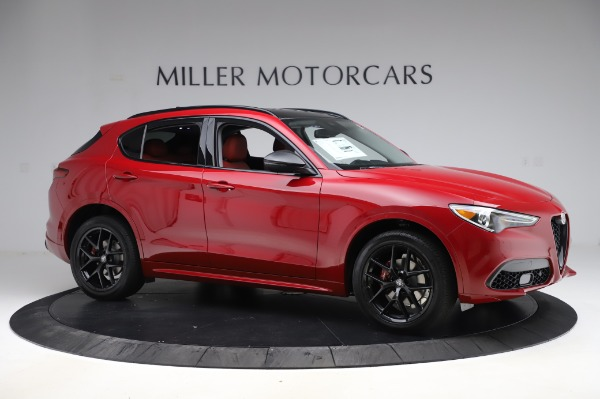 New 2020 Alfa Romeo Stelvio Sport Q4 for sale $50,195 at Alfa Romeo of Greenwich in Greenwich CT 06830 10
