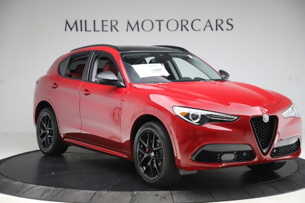 New 2020 Alfa Romeo Stelvio Sport Q4 for sale $50,195 at Alfa Romeo of Greenwich in Greenwich CT 06830 11