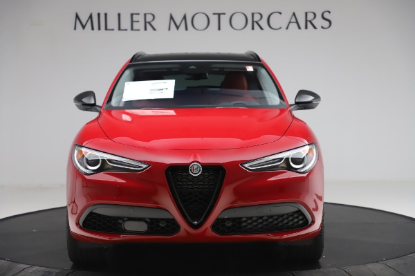 New 2020 Alfa Romeo Stelvio Sport Q4 for sale $50,195 at Alfa Romeo of Greenwich in Greenwich CT 06830 12
