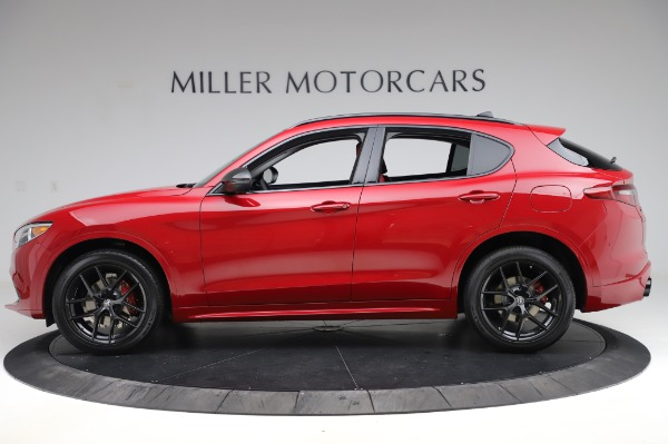 New 2020 Alfa Romeo Stelvio Sport Q4 for sale $50,195 at Alfa Romeo of Greenwich in Greenwich CT 06830 3
